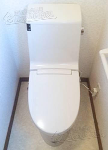 施工後 LIXIL(INAX) アメージュ シャワートイレ